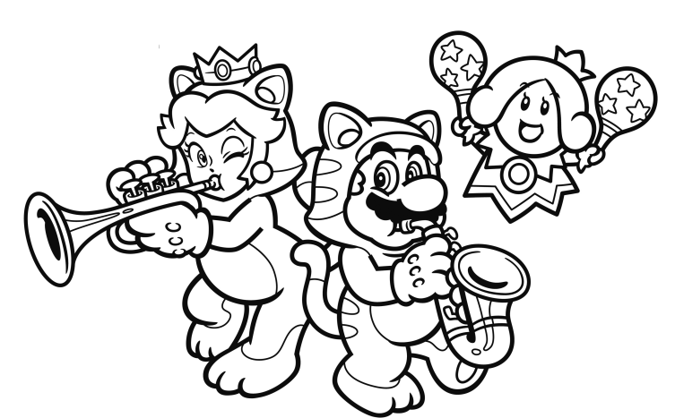 753x467 Nintendo Releases Another Set Of Coloring Book Pages Online
