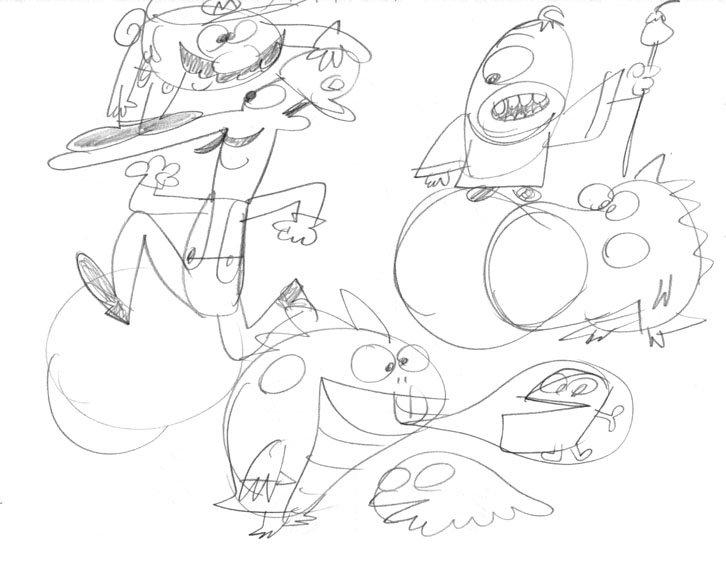 726x561 Rex Hackelberg Nintendo Drawings