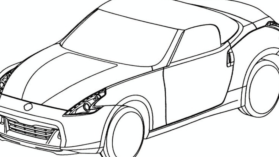 889x500 370z Roadster Design Sketches Leaked Via European Trademark Office