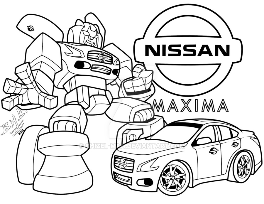 900x695 nissan maxima transformer by chizel man on deviantart