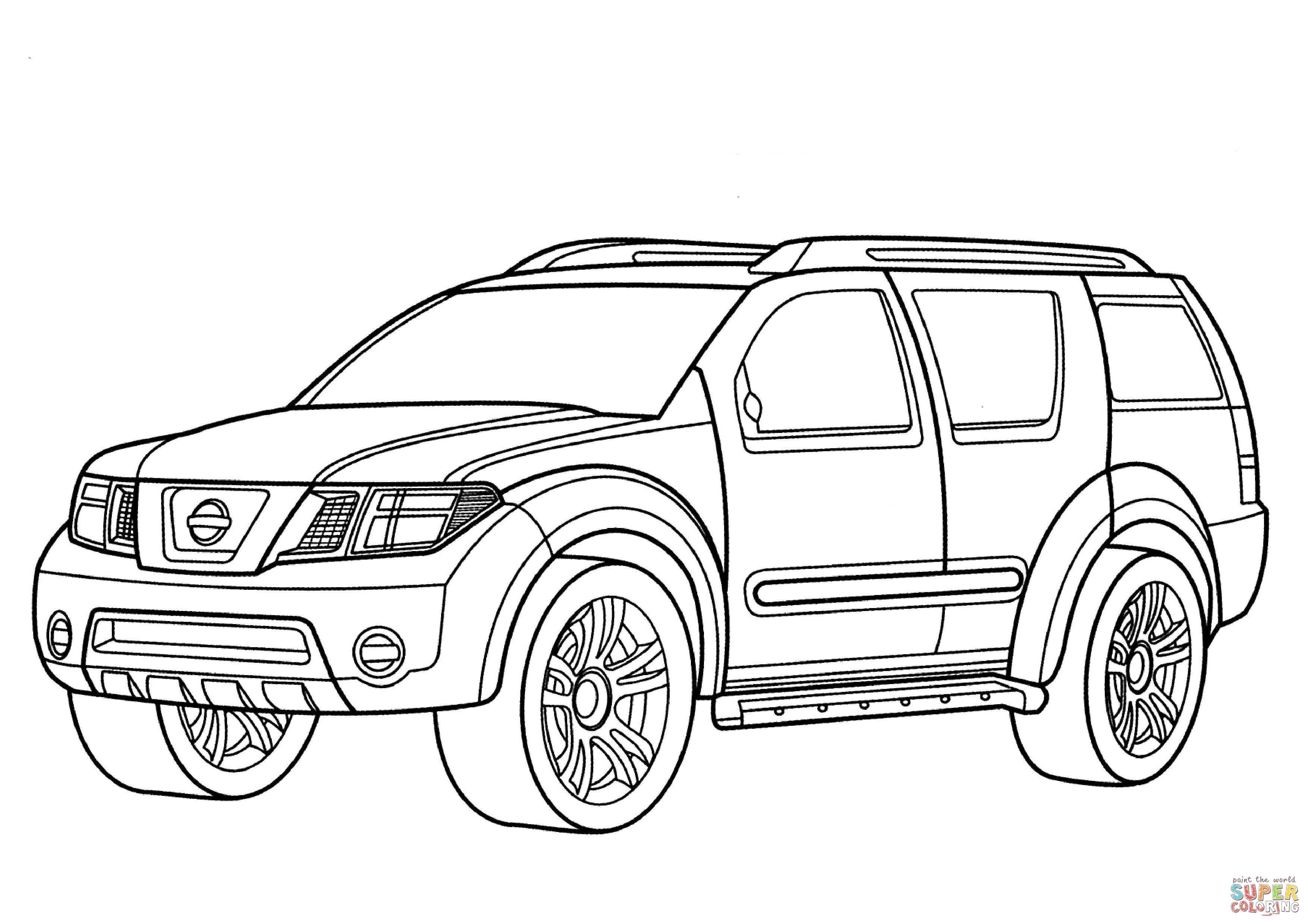 3508x2480 Car Suv Coloring Pages Coloring Pages Cars And Nissan