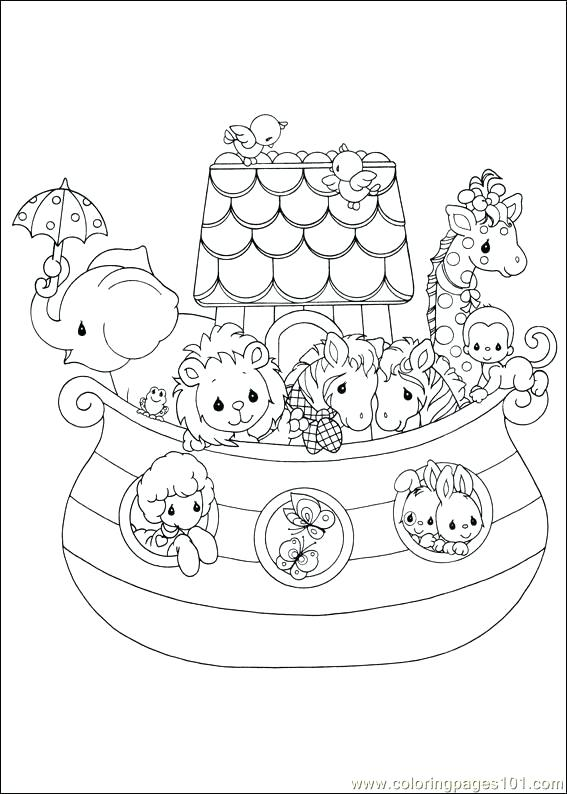567x794 Noah And The Ark Coloring Pages Best And The Ark Coloring Pages