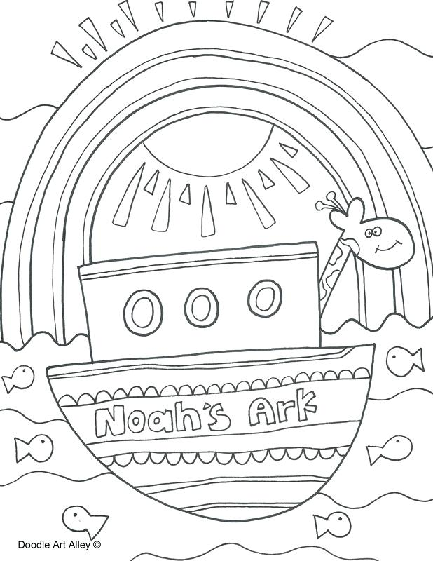618x800 Noah Ark Coloring Pages Plus Ark Simple Drawing Coloring Page