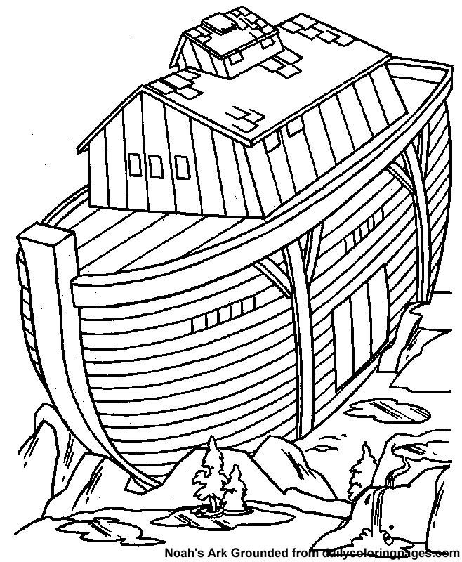 658x800 Noah39s Ark Coloring Page 06 Kid Stuff Pinterest Sunday