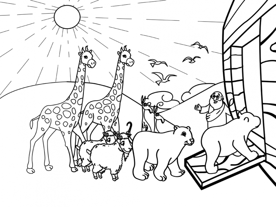 945x709 Image Result For Noah Ark Drawing Gilbert