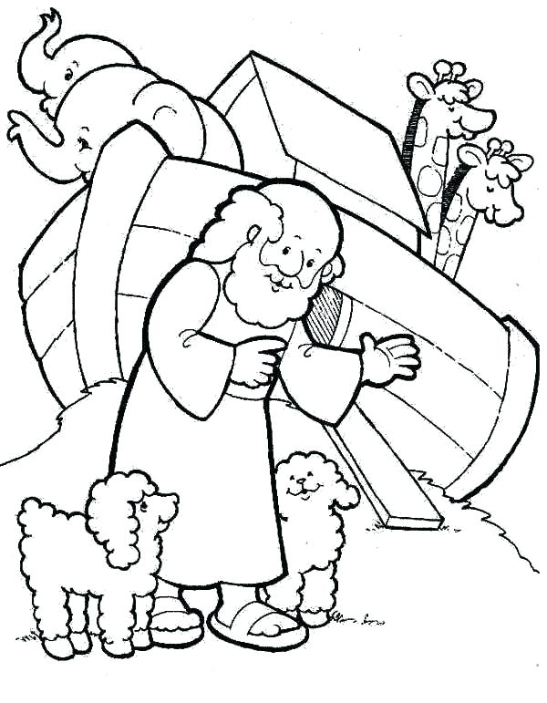 600x771 Great Noah And The Ark Coloring Pages Print Coloring Pages