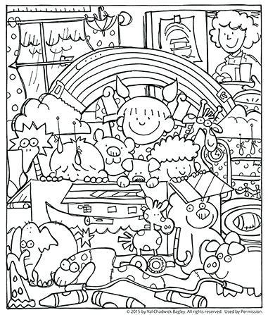 381x447 Noah Ark Coloring Pages 42 And Noahs Ark Coloring Pages Kjv Qr0