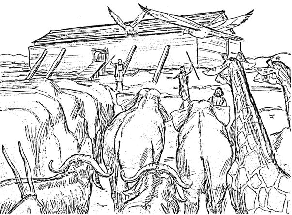 603x444 Bible Fun For Kids 1.3. Genesis Noah's Ark