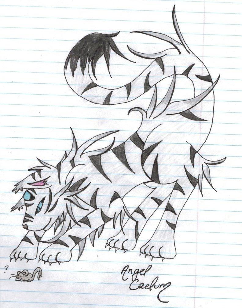 792x1009 White Tiger By Noah Kun12