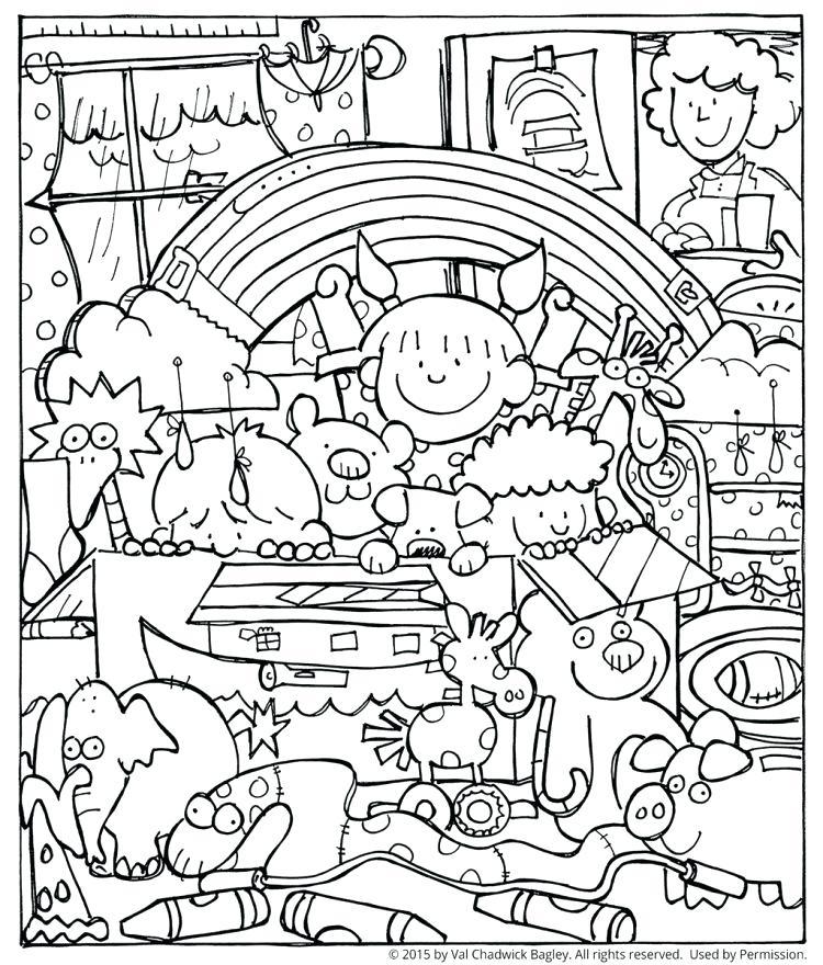 750x880 Best Noah Ark Coloring Page Ideas