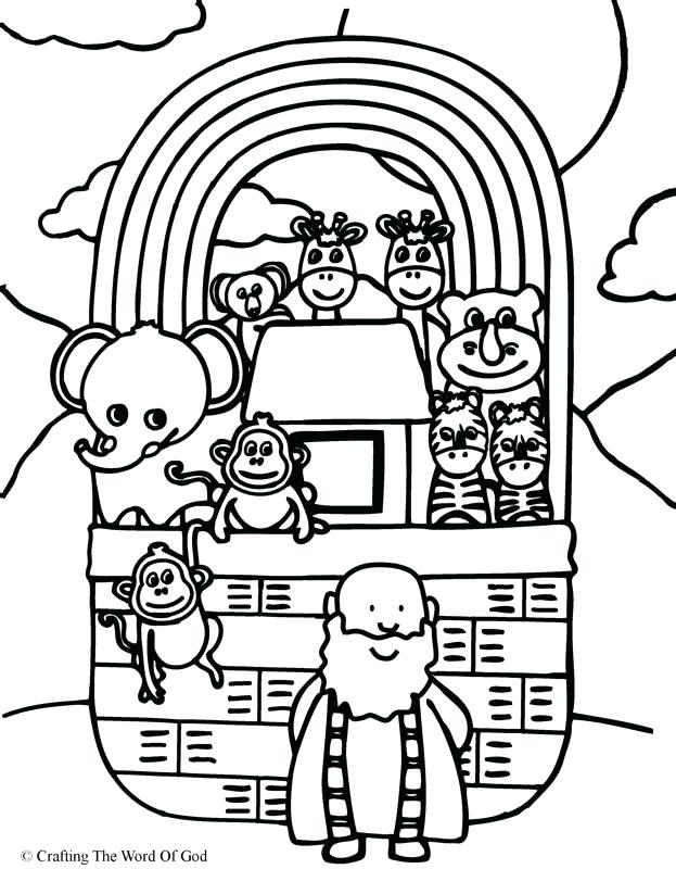 623x800 Noah Ark Coloring Pages As Well As Awesome Ark Coloring Page
