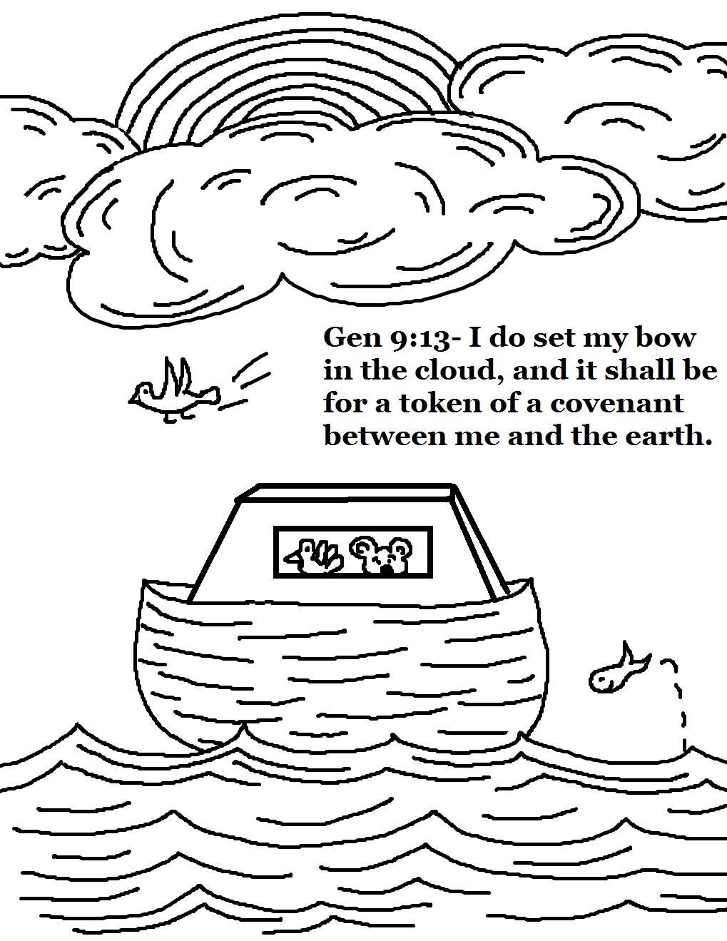 Noahs Ark Drawing at GetDrawings.com | Free for personal use ...