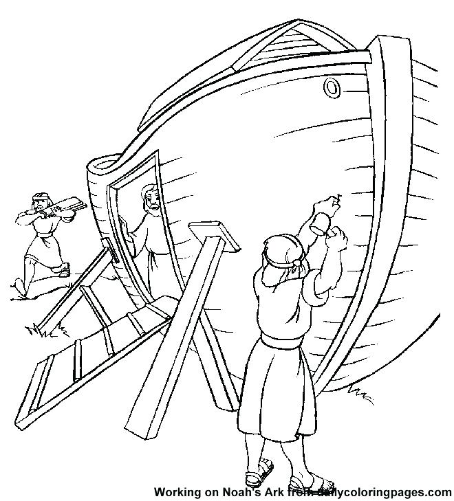 660x729 Noahs Ark Coloring Pages Kjv And Ark Coloring Pages Plus Ark