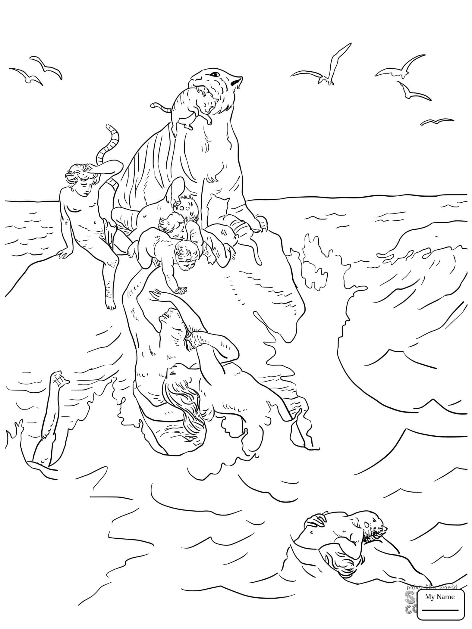 1566x2089 Coloring Pages Noahs Ark Animals Loading Noah S Ark Christianity