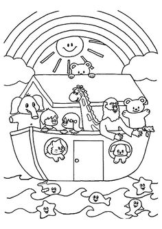 236x333 Free Children Coloring Pages Of Noah Ark Baby Room