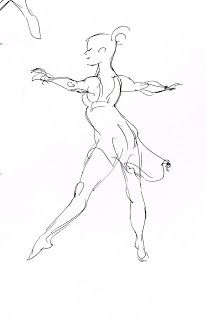 206x320 Image result for how to do ballet sketches Drawing Pinterest