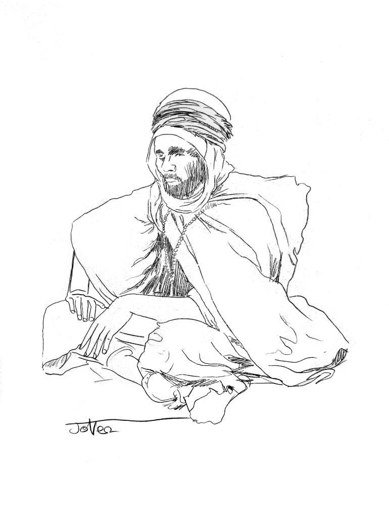 770x1037 Saatchi Art nomad study