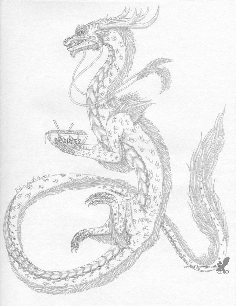 784x1018 Noodle Dragon By Dracoflameus
