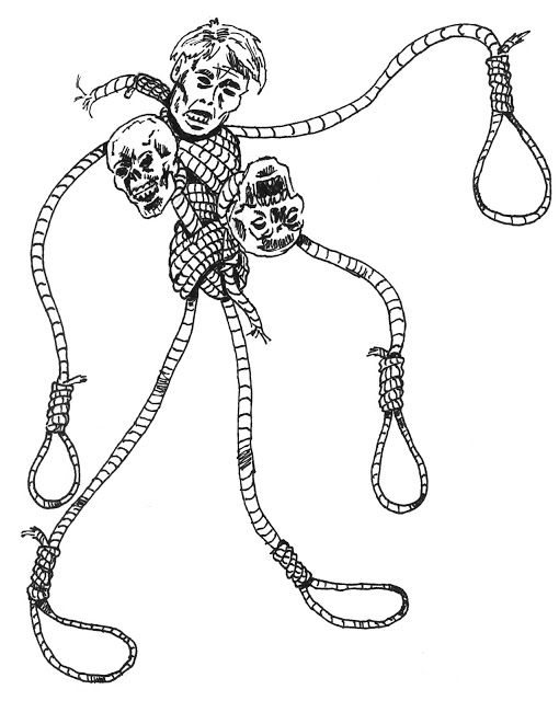 510x640 Mutants And Magic Monstrous Mutated Monday Noose Golem, Gundroid