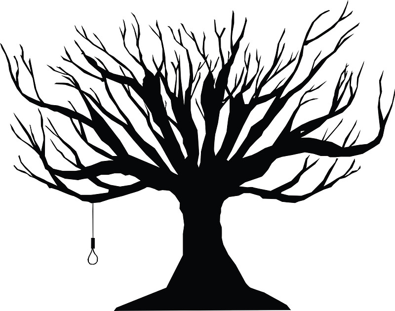 800x630 Black Tree With Noose Photographic Prints By Tortillachief