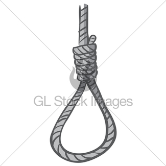 325x325 Drawing Of Hang Knot Noose Gallows Gl Stock Images