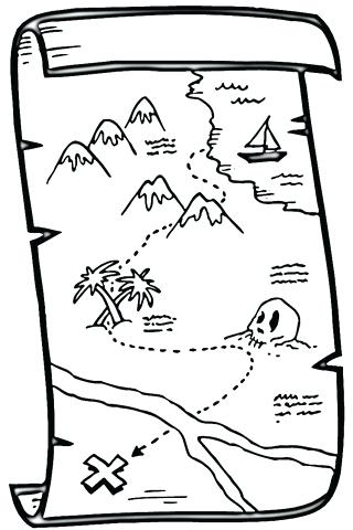 320x480 Map For Coloring Click To See Printable Version Of Treasure Map