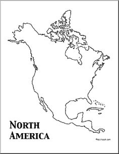 graphic relating to Map of North America Printable identify North The us Map Drawing at  No cost for