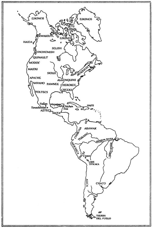 Central america map names