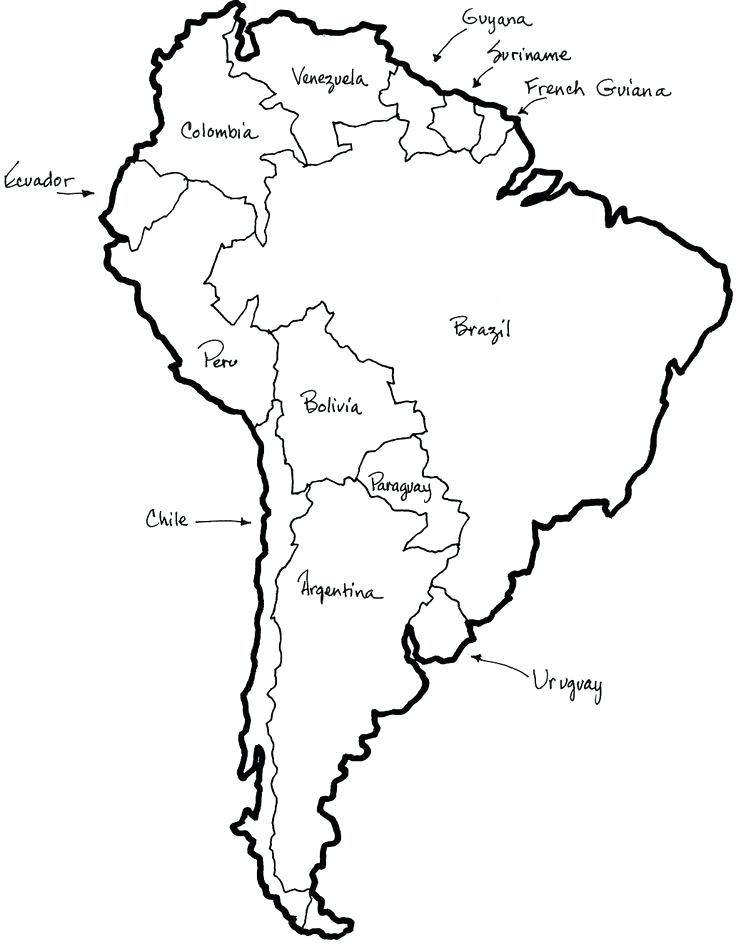 736x944 North America Map Coloring Page Omnitutor.co