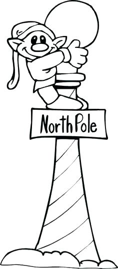 236x539 North Pole Coloring Pages And Coloring Page North Pole Animals