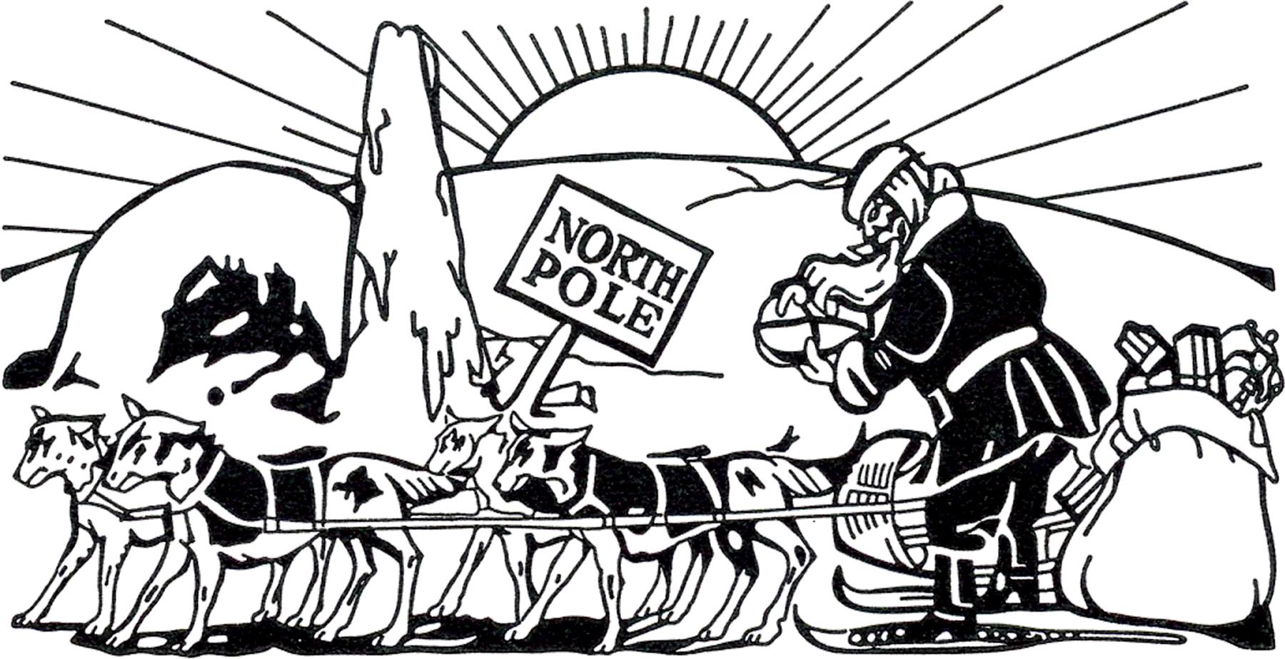 1800x924 Vintage North Pole Santa