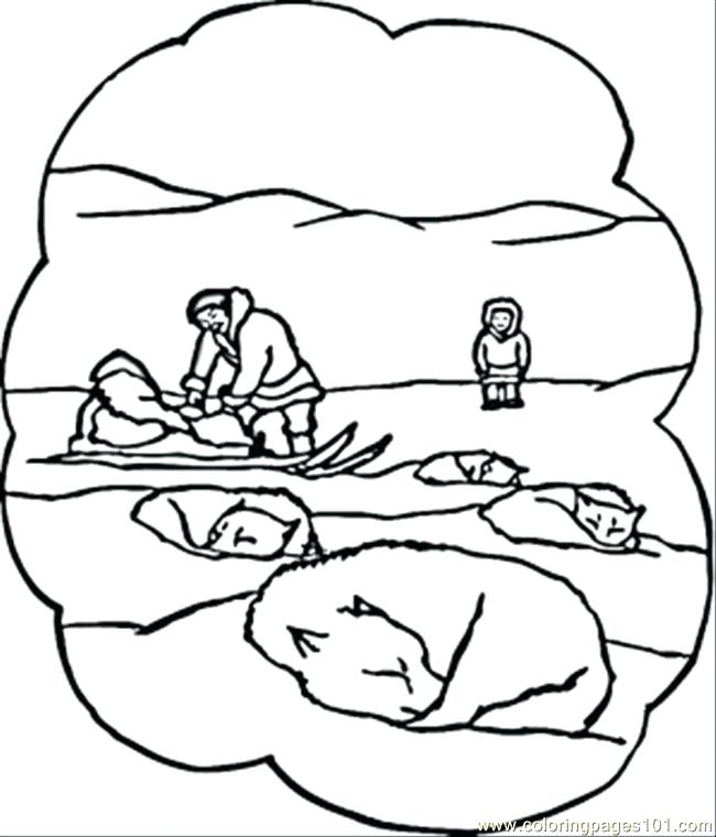 650x760 North Pole Coloring Pages Synthesis.site