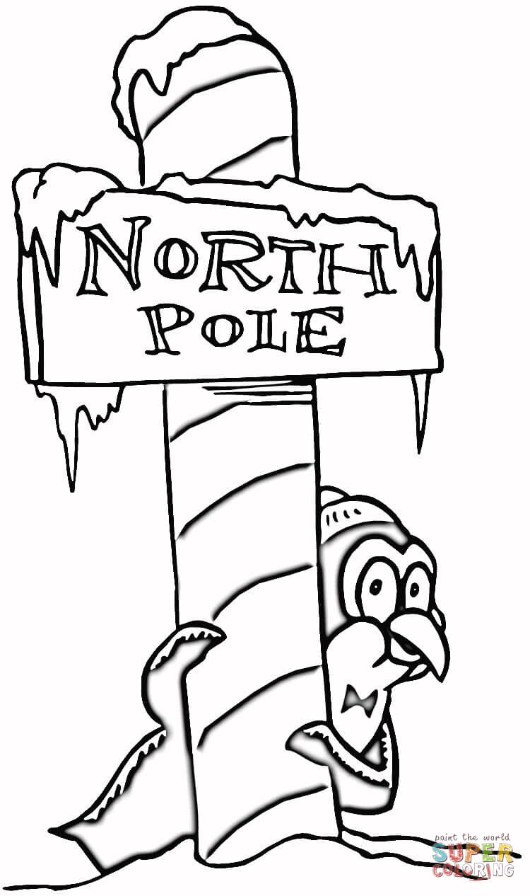 750x1266 Click On The Below Best Printable Christmas North Pole Coloring