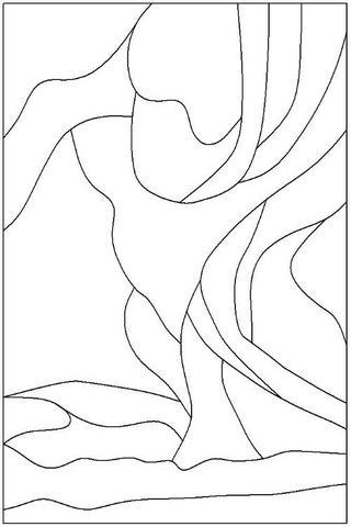 320x480 Northern Lights Tiffany's Northern Lights, Glass
