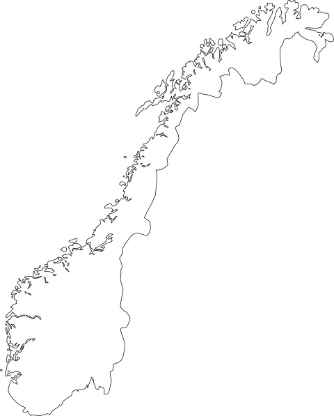 480x597 Map Of Norway Clip Art Free Vector In Open Office Drawing Svg