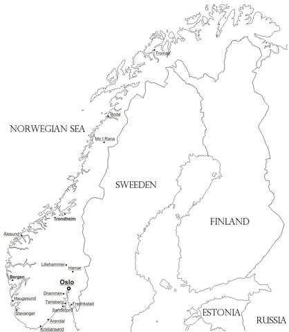 418x480 Norway Map Coloring Page Free Printable Coloring Pages