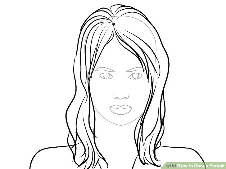 728x546 4 Ways To Draw A Portrait