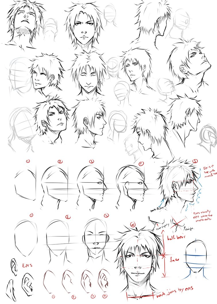 755x1057 Drawing Faces