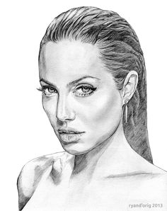 236x298 Angelina Jolie By Fnigen Angelina Jolie Pics Amp Art