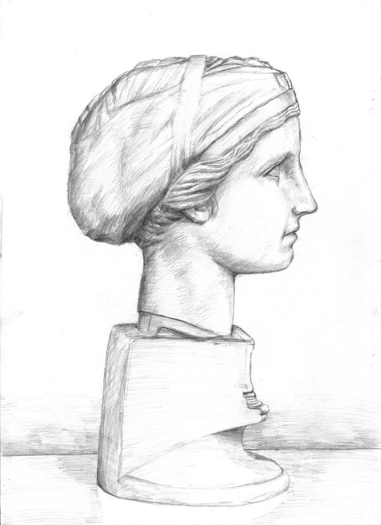 761x1049 Pencil Drawing 1 By Theocrata