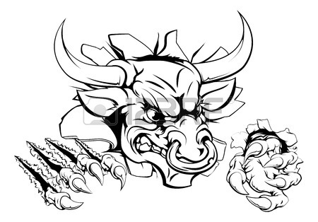 450x314 Bull With Nose Ring Stock Photos. Royalty Free Business Images