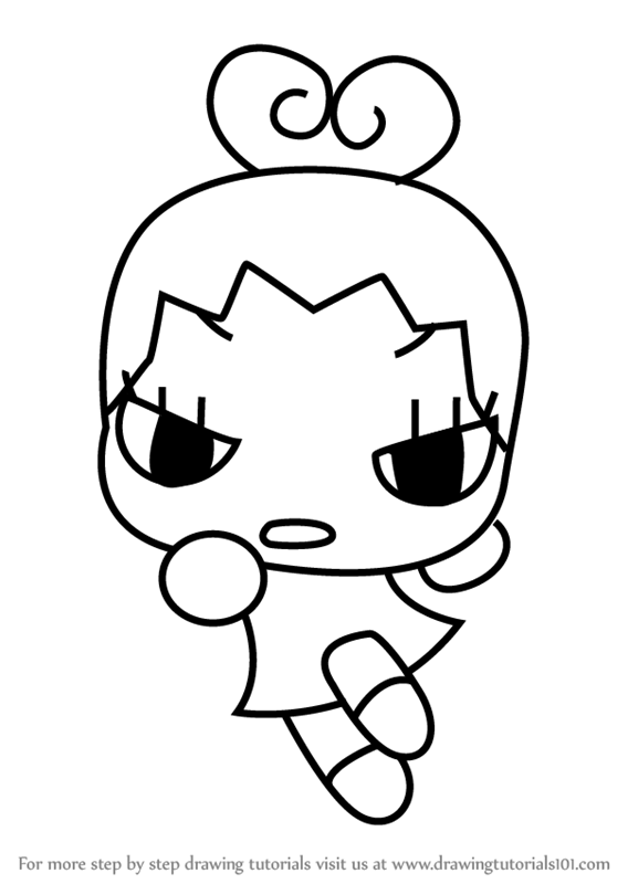 568x800 Learn How To Draw Ring Ring From Pucca (Pucca) Step By Step