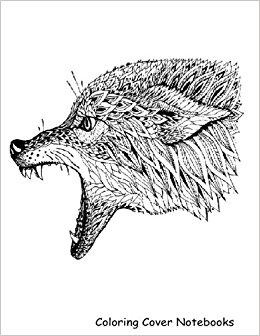 260x336 Coloring Cover Sketchbook (Wolf Howl) Sketchbook For Sketching