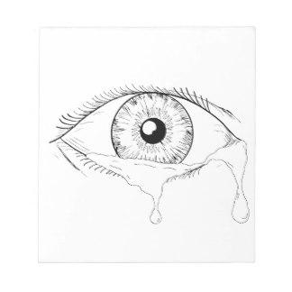 324x324 Eyeball Notepads Zazzle