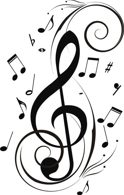 430x676 9 Best Music Art Images On Song Notes, Music Notes