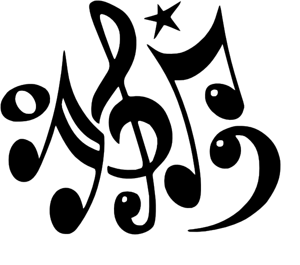 600x531 Musical Notes Clip Art
