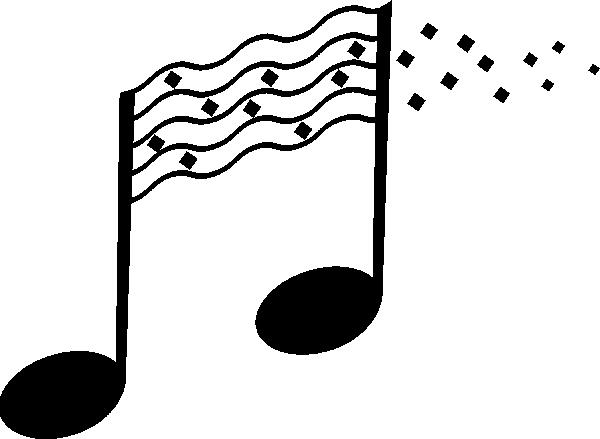600x439 Best Photos of How To Draw Music Notes Drawings