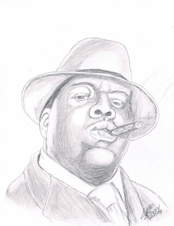 600x781 Notorious Big By Chadbovey
