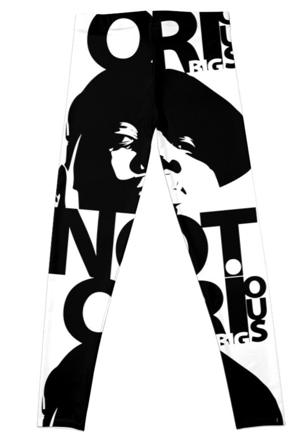 607x875 Notorious Big Leggings By Mcache Redbubble