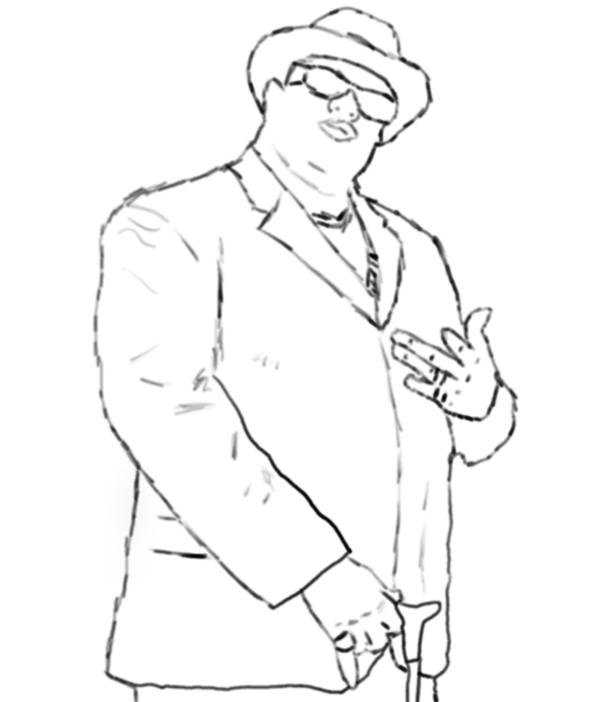 600x702 Big E Smalls, Notorious B.i.g. By Jdlindallas